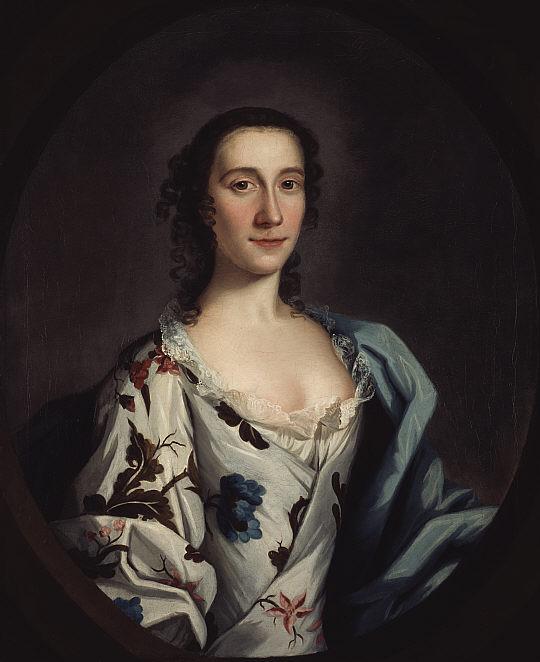 Clementina Walkinshaw (entre 1740 et 1745 - auteur inconnu) (National Galleries of Scotland - PG1102)