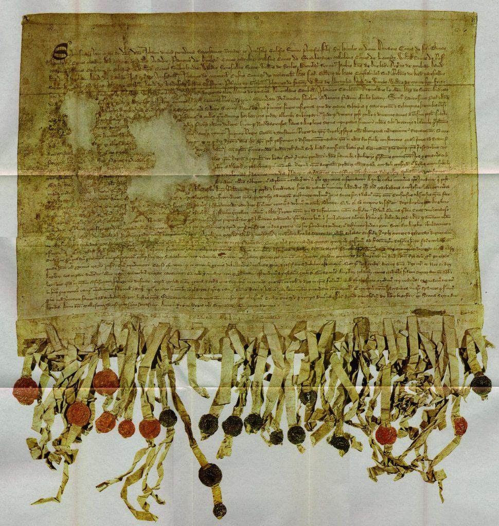 La déclaration d'Arbroath - 1320