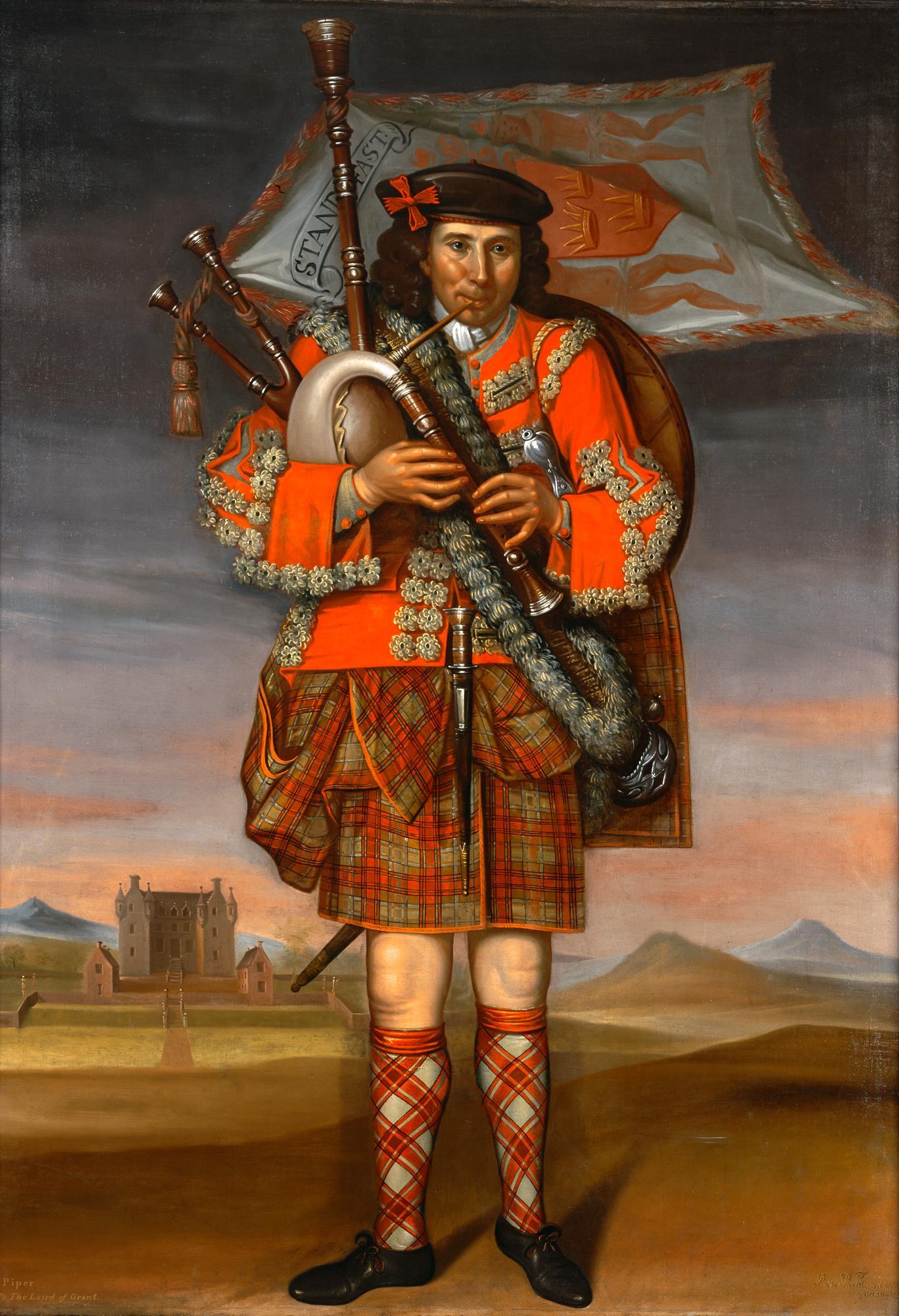 Un piper par Waitt, 1714