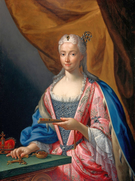 Maria Klementyna par Francesco Trevisani