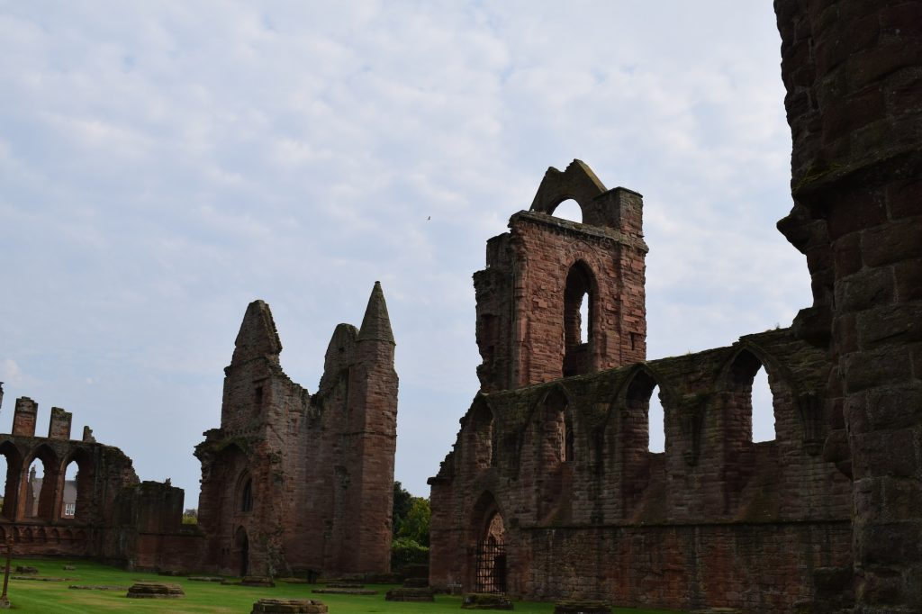 L'abbaye de nos jours - photo par Lilly