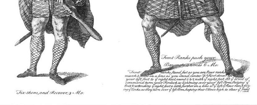 chaussures à boucles- gravure de 1757