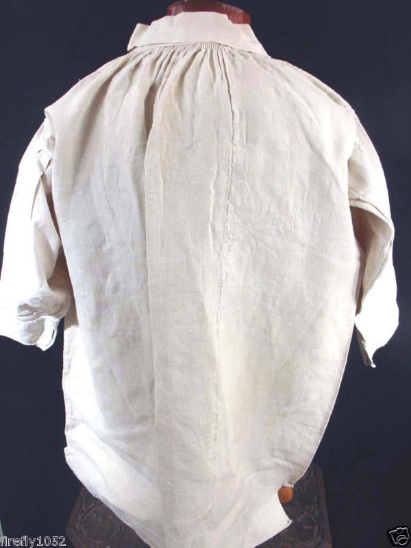 chemise en lin - France - XVIIIe siècle