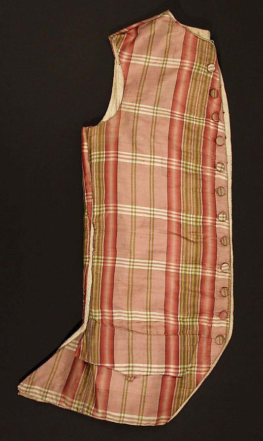 Gilet - France - 1775