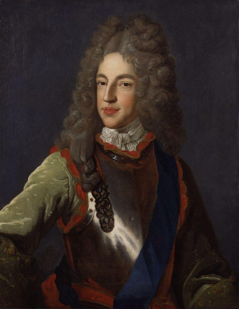 Prince James Francis Edward Stuart par Alexis Simon Belle - National Portrait Gallery : NPG 348