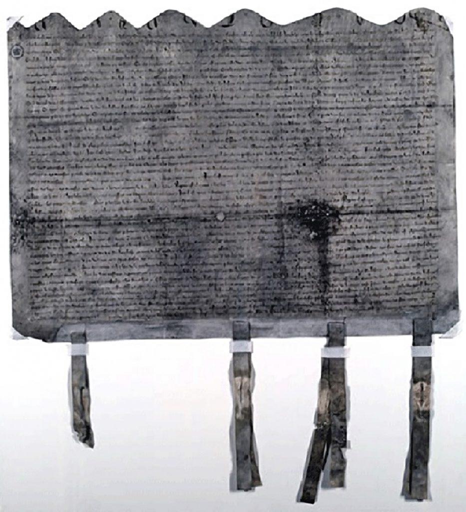 Le traité d'Édimbourg - Northampton