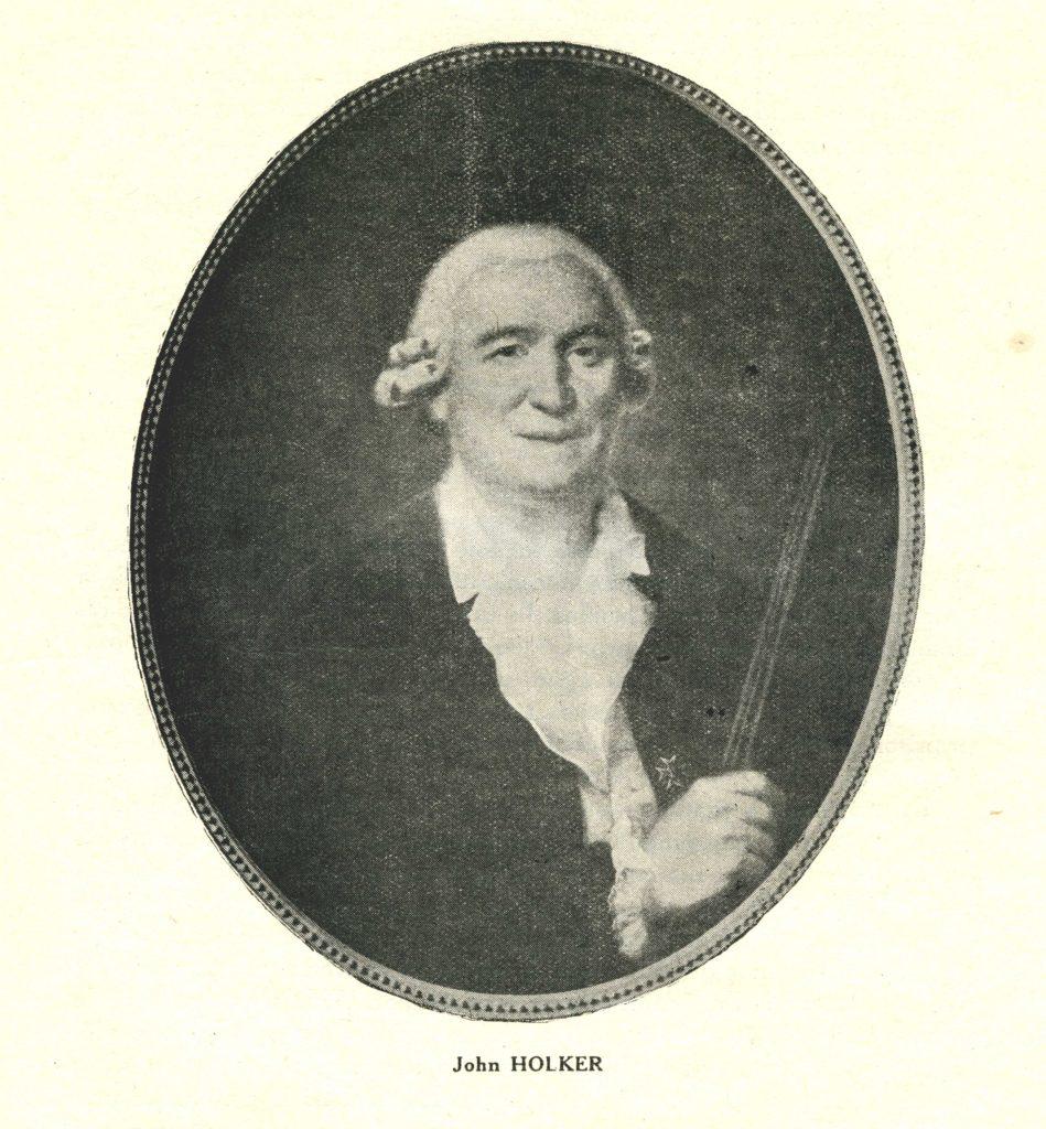 Portrait de John Holker