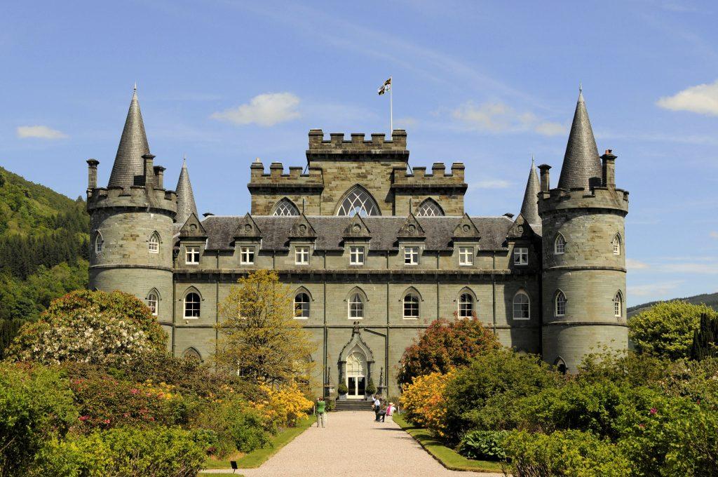 Le château d'Inveraray de nos jours