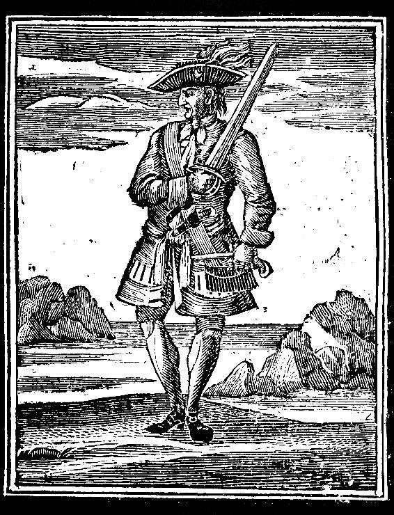 Jack Rackham, auteur inconnu, XVIIIème siècle