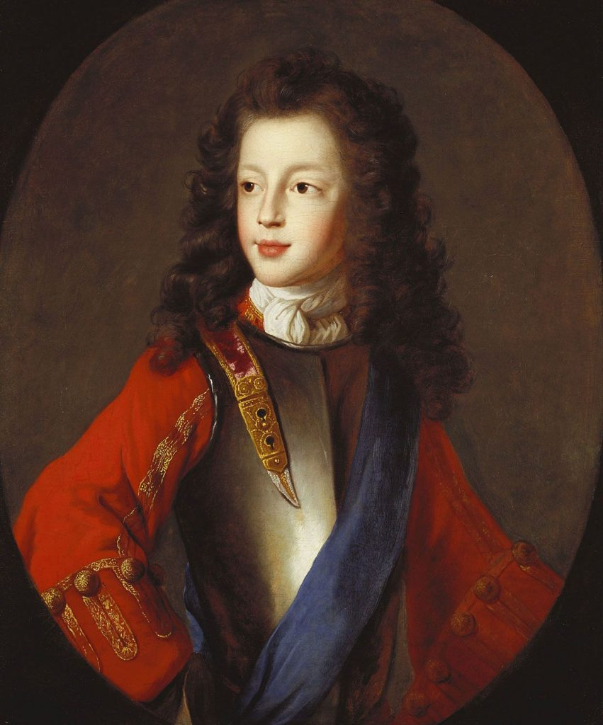 James Francis Edward Stuart, 1703, attribué à Alexis Simon Belle
