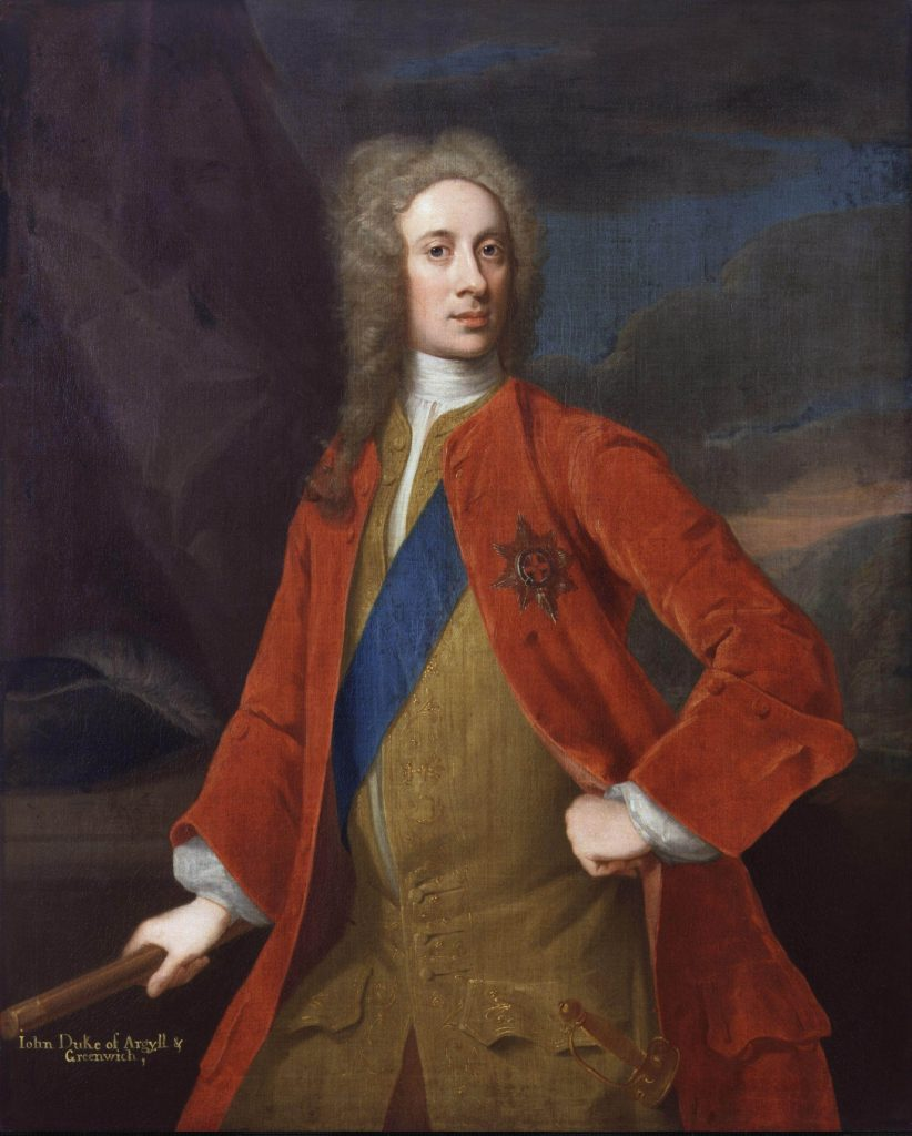 John Campbell, 2nd Duc d'Argyll et Duc de Greenwich (1678-1743) par William Aikman - 1720-1725