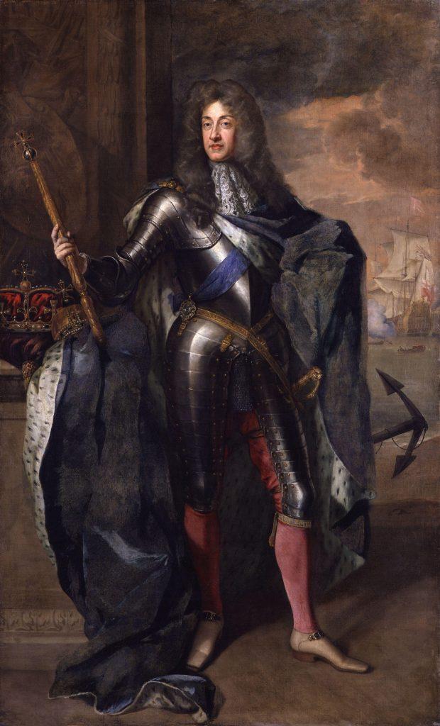 Jacques II et VII - peint par Sir Godfrey Kneller - 1684