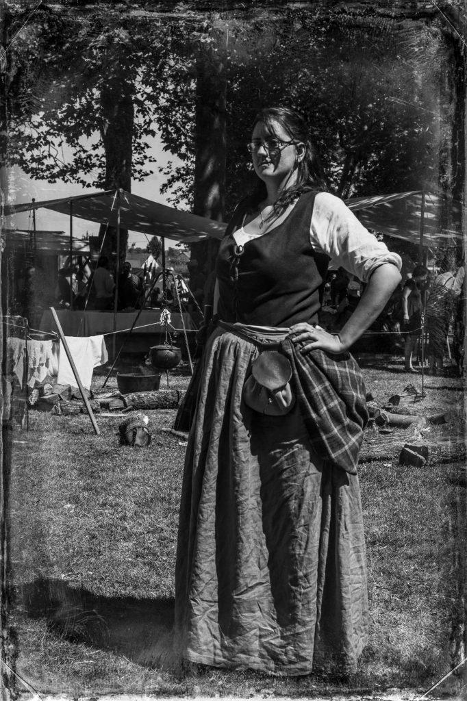 Saor Alba - Paysanne écossaise XVIIIeme siècle
