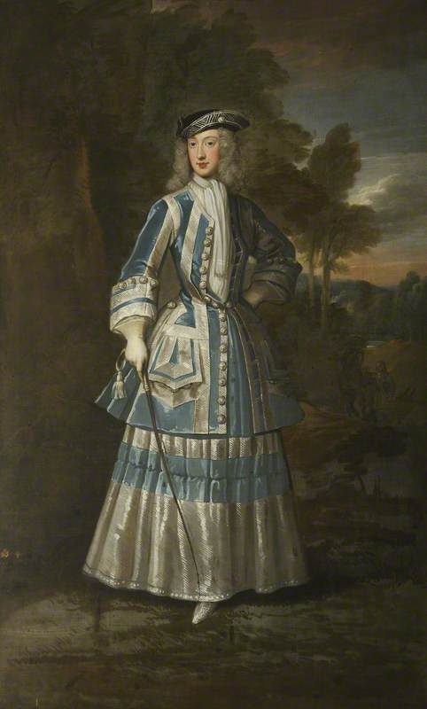 Henrietta Cavendish Holles (1694–1755), Countess of Oxford KNELLER 1714