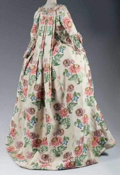 Robe à la française, 1735