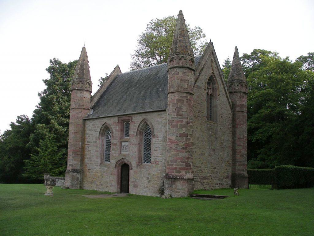 La chapelle de Moot Hill, à Scone