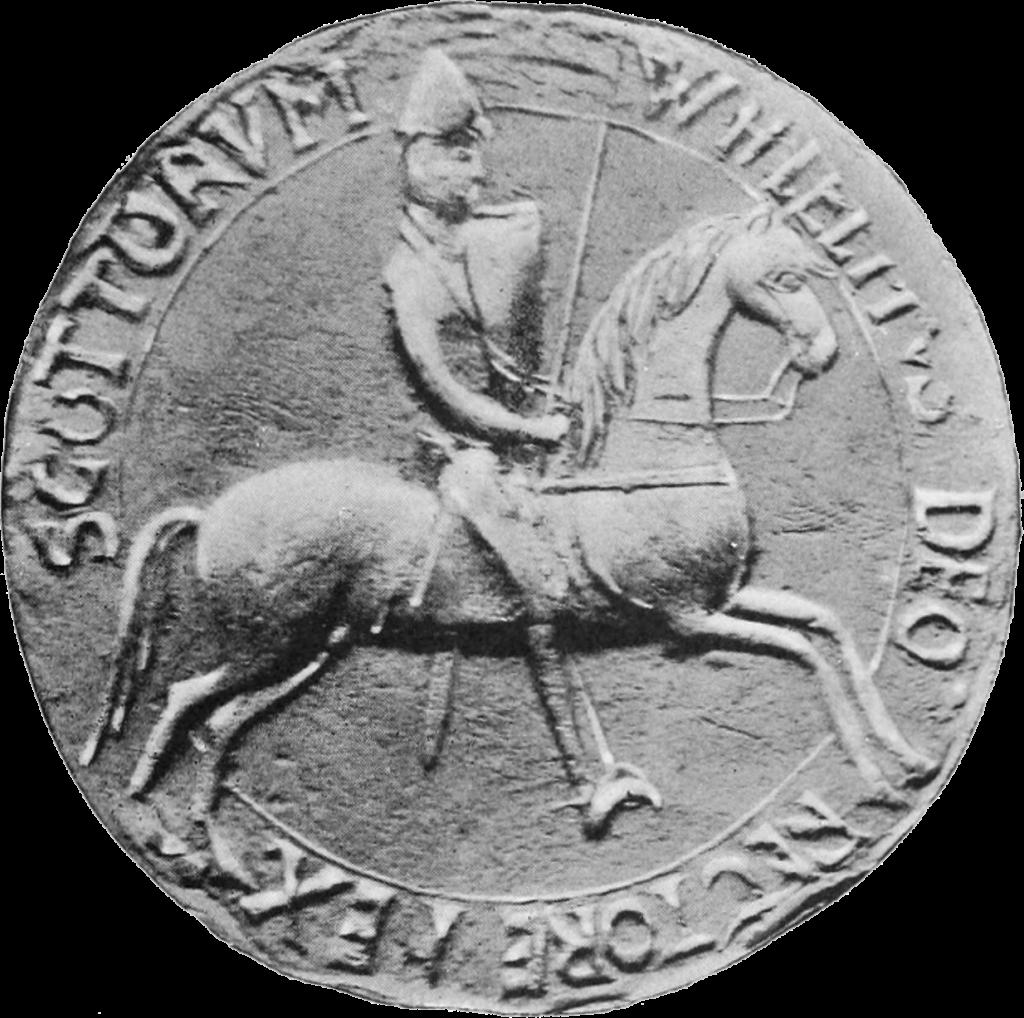 Le sceau de Guillaume I