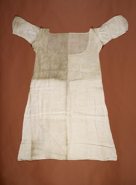 Chemise de Marie-Antoinette pendant sa détention