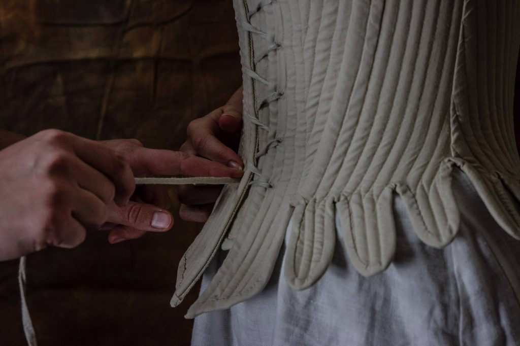corset 1730 details