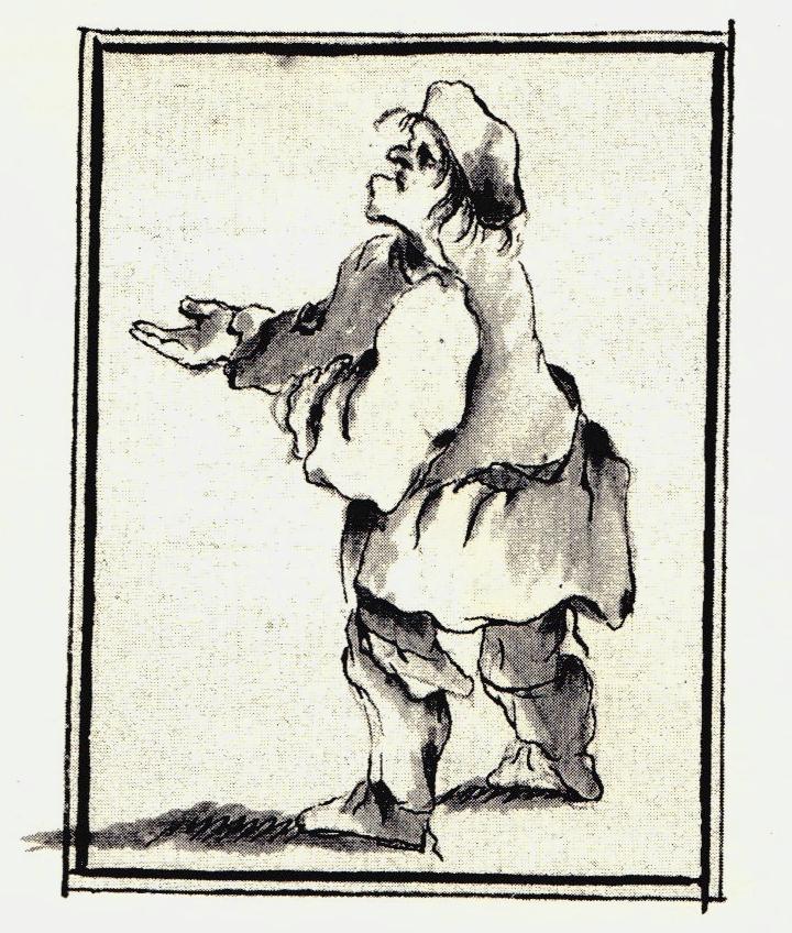 Un clansman quémandant