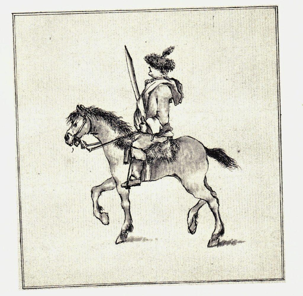 Un hussard de John Murray de Broughton