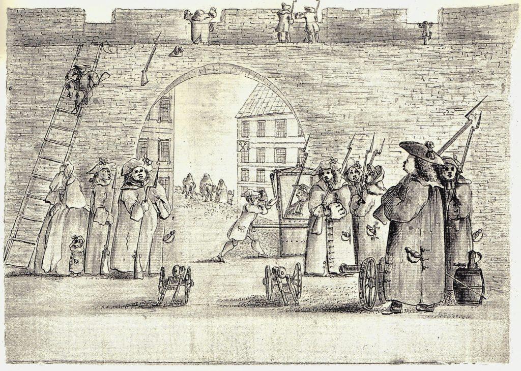 Aux portes d'Édimbourg - les dessins de Penicuik - vers 1745