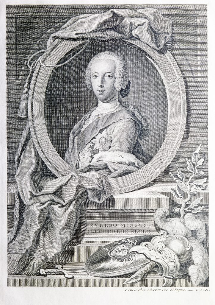 Prince Charles Édouard Stuart - par sir Robert Strange - 1745 (National Galleries Scotland - SP IV 123.20)