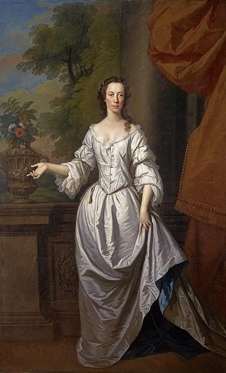 Elizabeth Cunyngham, Mrs Daniel Cunyngham, Allan Ramsay, 1740