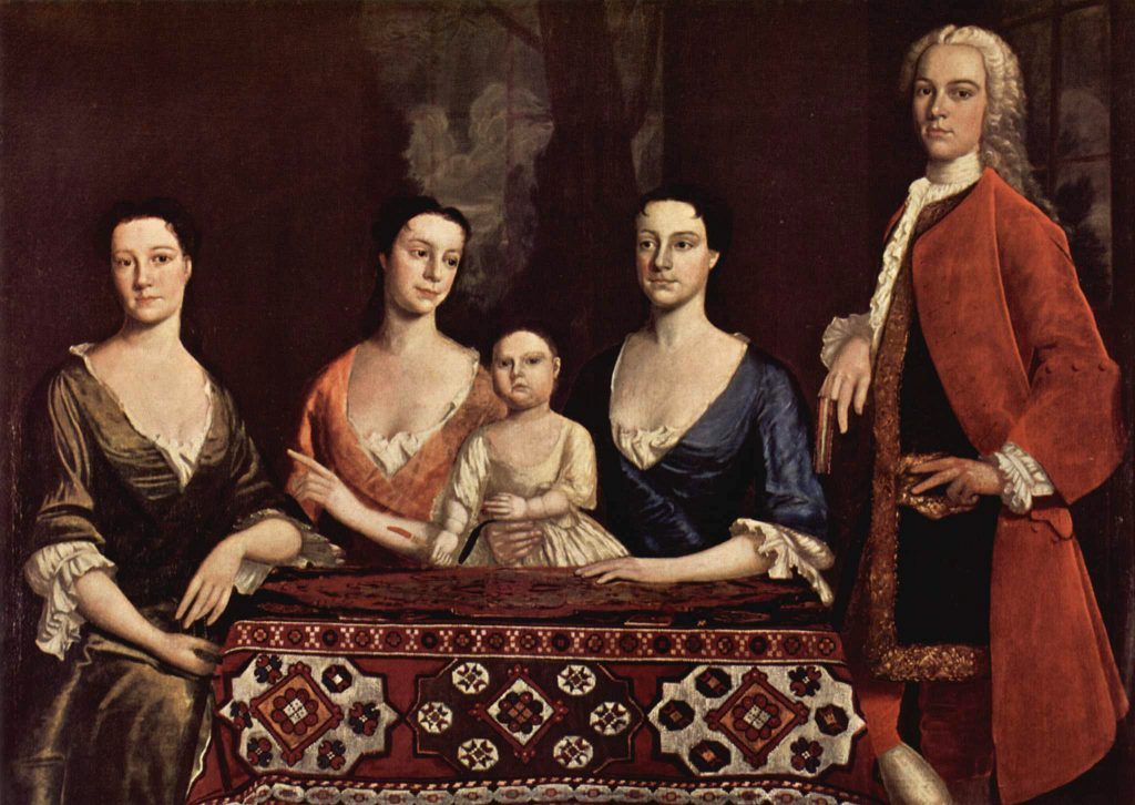 Isaac Royal and His Family, Robert Feke, 1741
