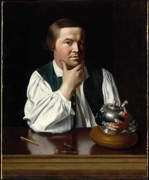 Paul Revere, John Singleton Copley, 1768