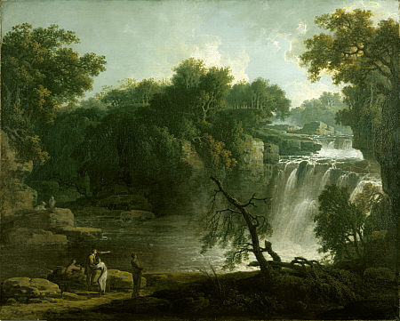 The Falls of Clyde (Corra Linn), 1771, Jacob More