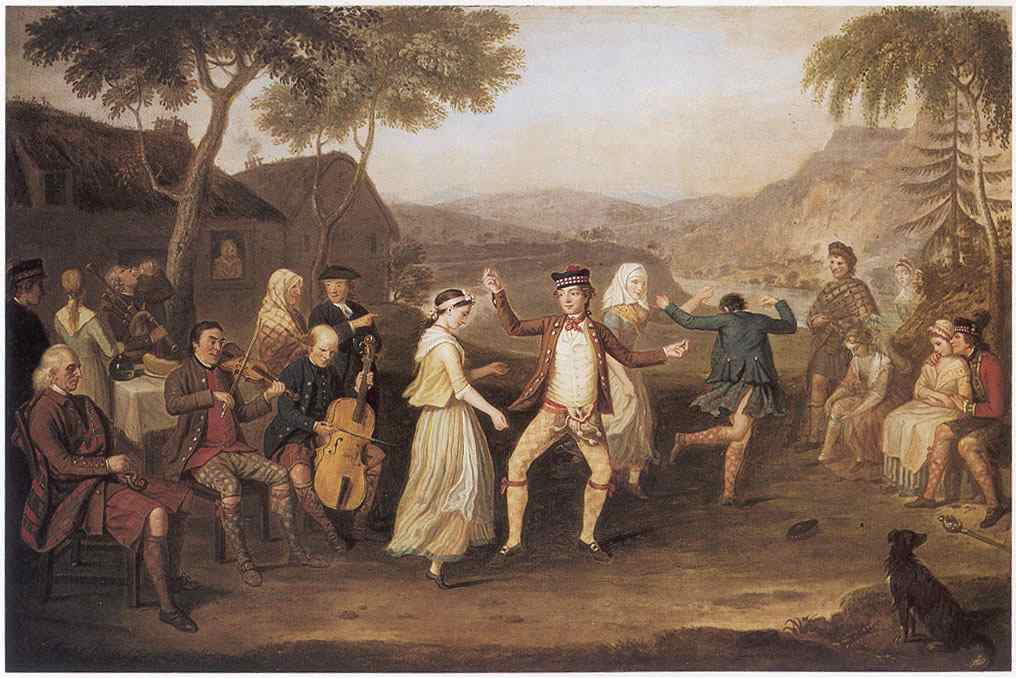 Allan David, The Highland wedding, 1780