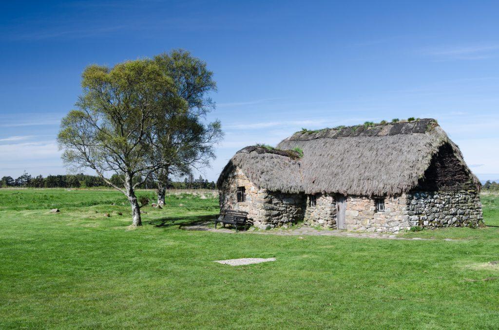 Le Leanach Cottage de Culloden Moor