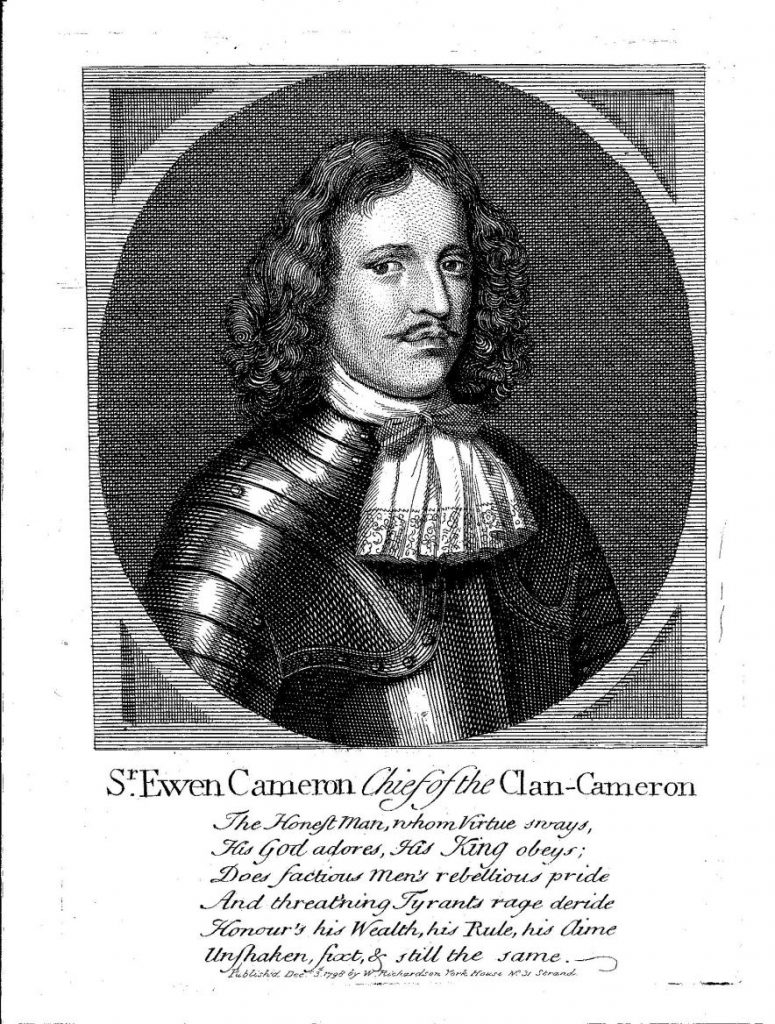Sir Ewen Cameron of Lochiel (1629-1719) - artiste inconnu - fin XVIIe siècle - (c) National Portrait Gallery of London