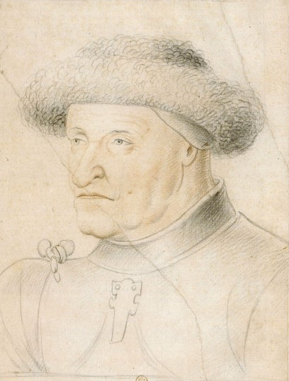 Arthur III, comte de Richemont et duc de Bretagne et connétable de France - dessin du XVIe ou XVIIe siècle