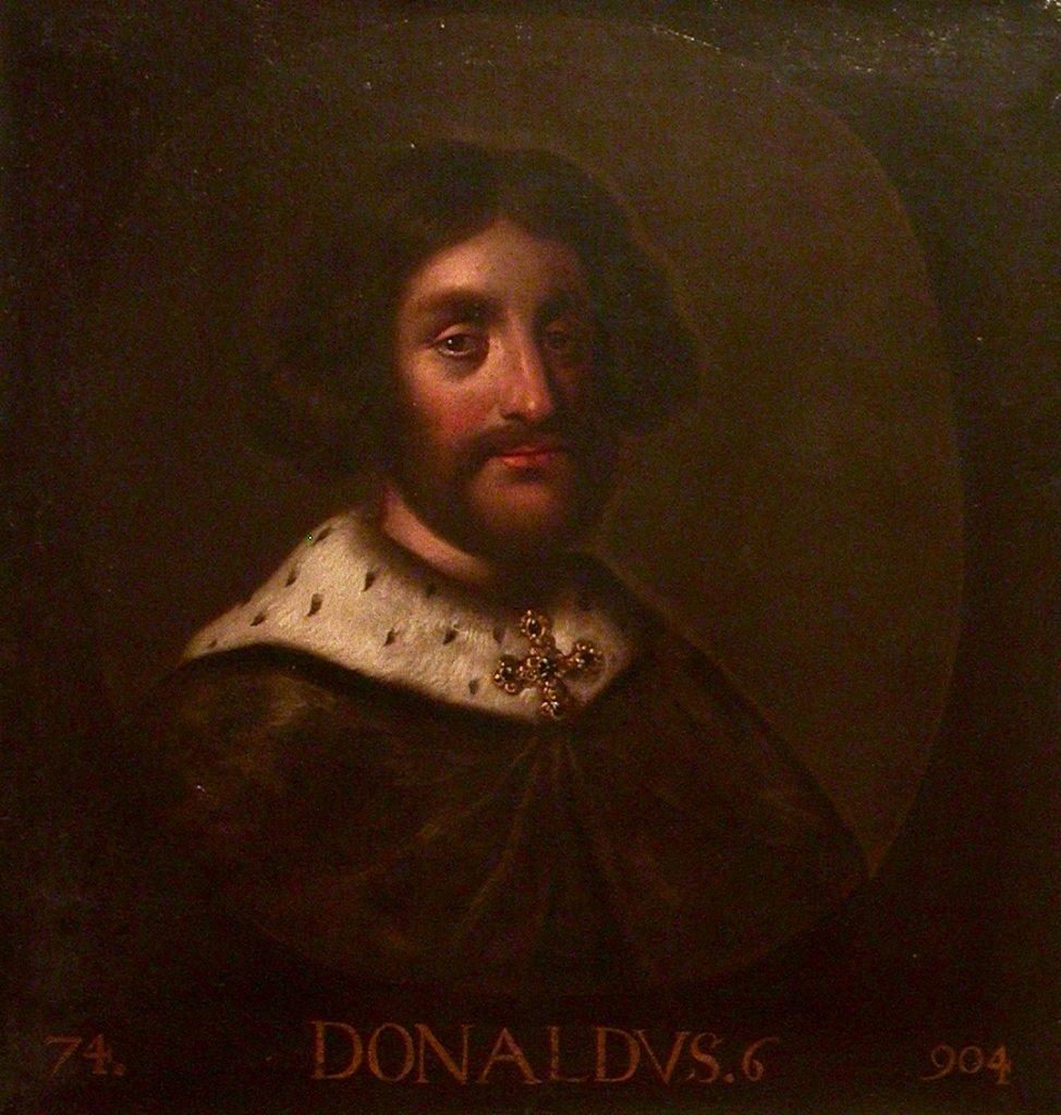 Donald II d'Écosse - par Jacob Jacobsz De Wet - XVIIe siècle