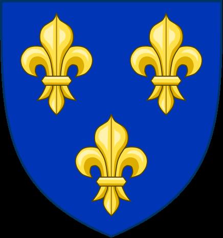Les armes du royaume de France