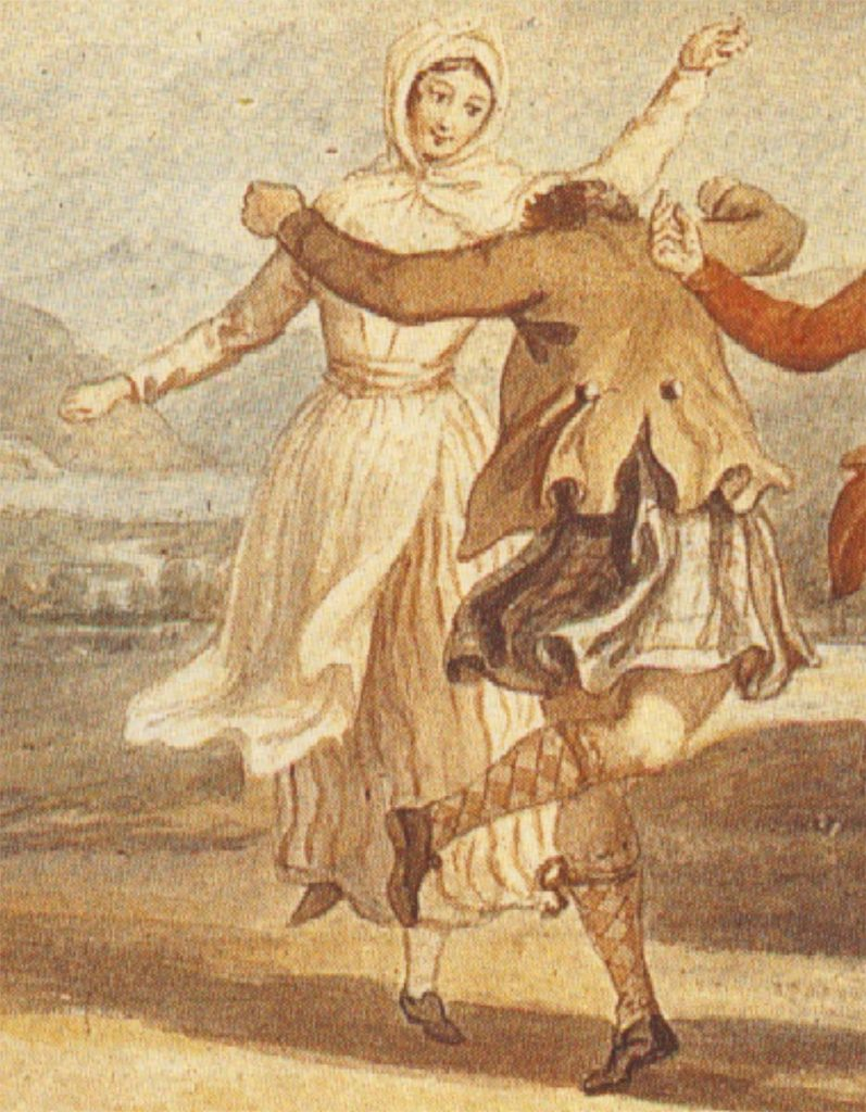 Highland Dance, par David Allan, 1780