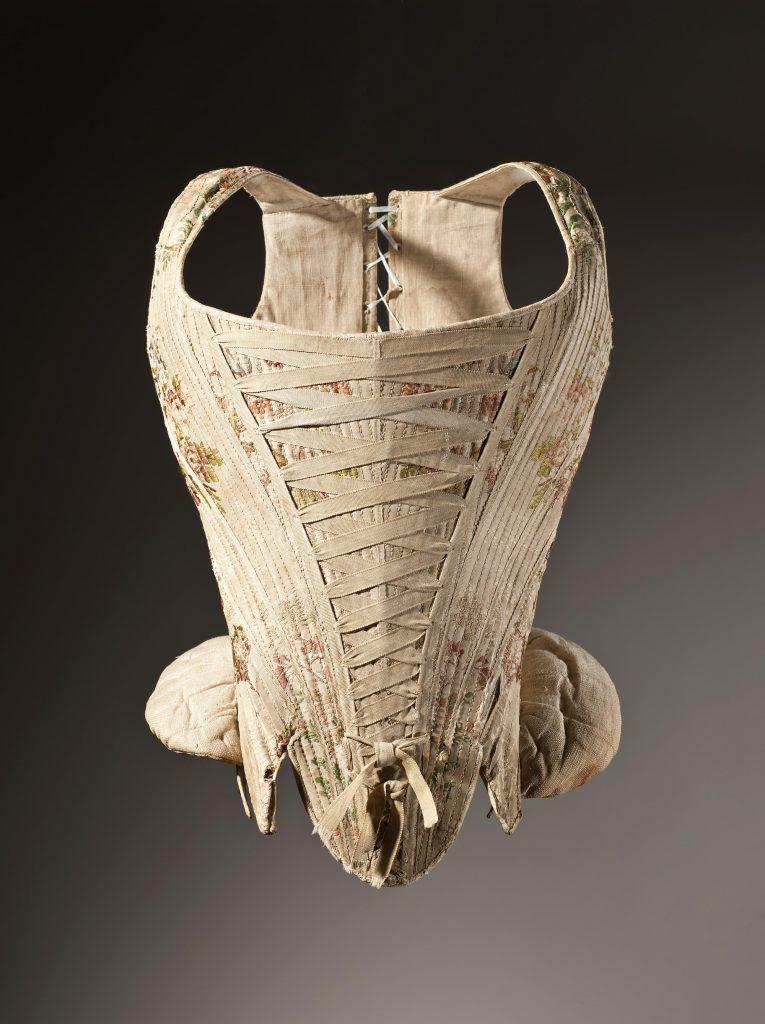 Stays en soie, 1730-1740