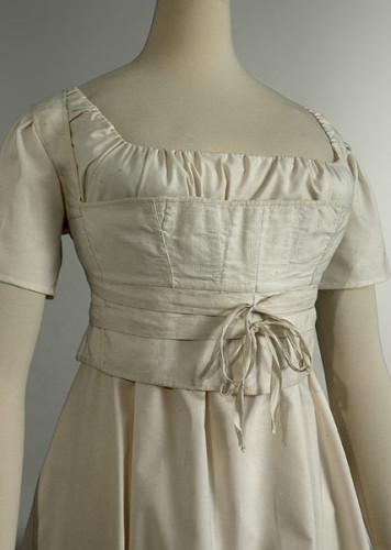 Corset - vers 1800 - Musée Galliera