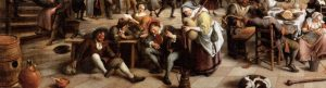 Jan Steen - Revelry at an Inn - 1674 - WGA21761