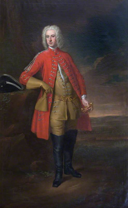 Sir John Cope par William Aikman vers 1730