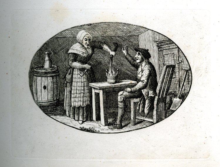 gravure de 1783 - Édimbourg - ref 1861,0413.146 - British Museum