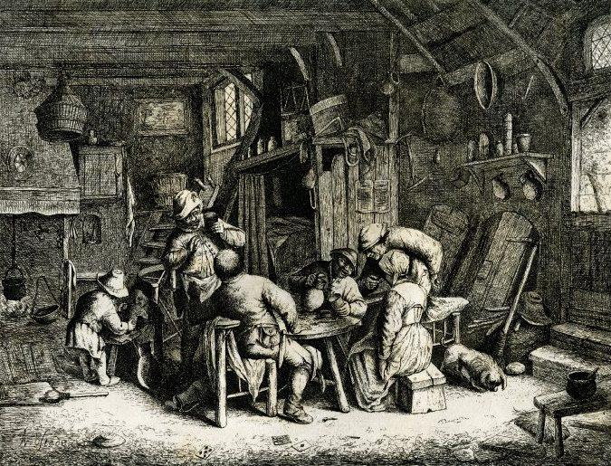 gravure de 1783 - Édimbourg - ref 1861,0413.430 - British Museum
