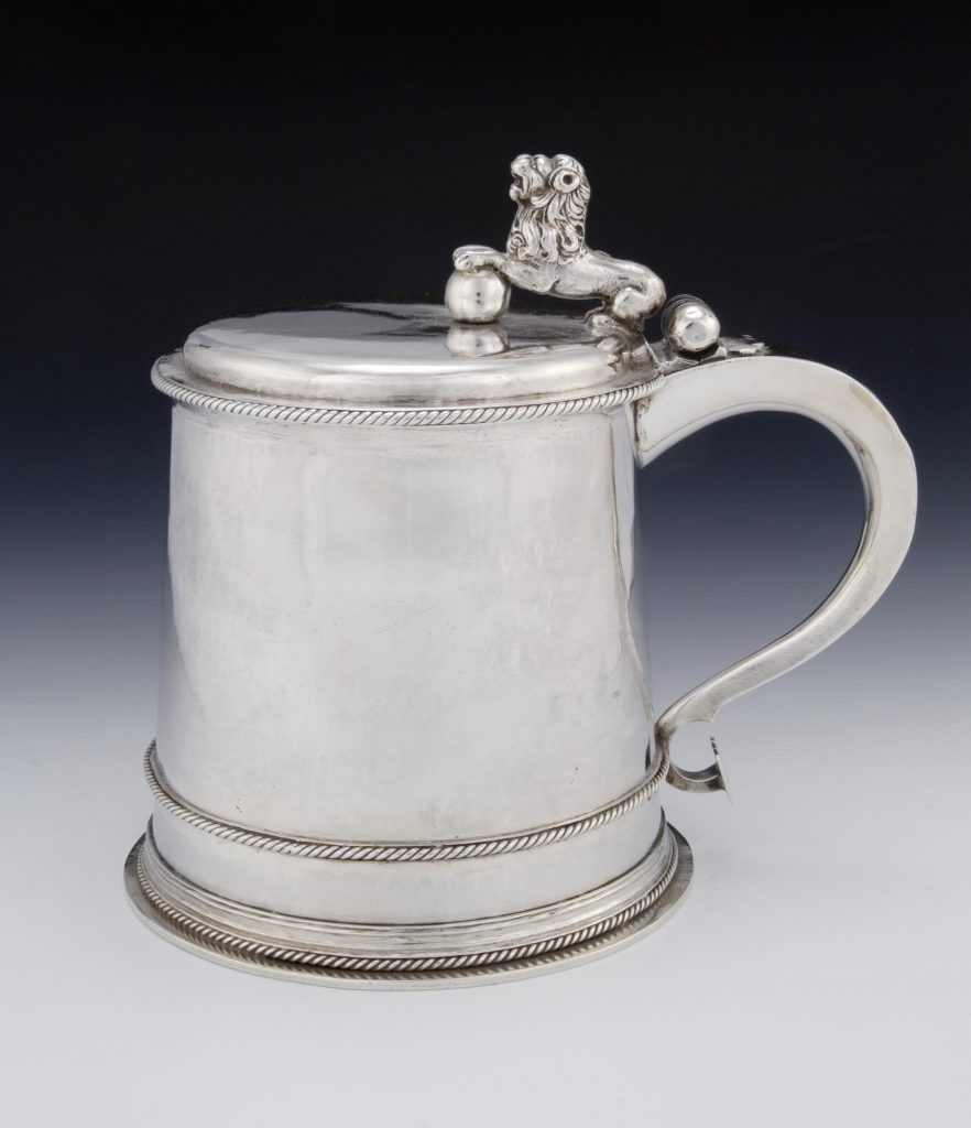 Chope en argent - Écosse - 1686 - Ref H.MEQ 1597 - National Museum of Scotland