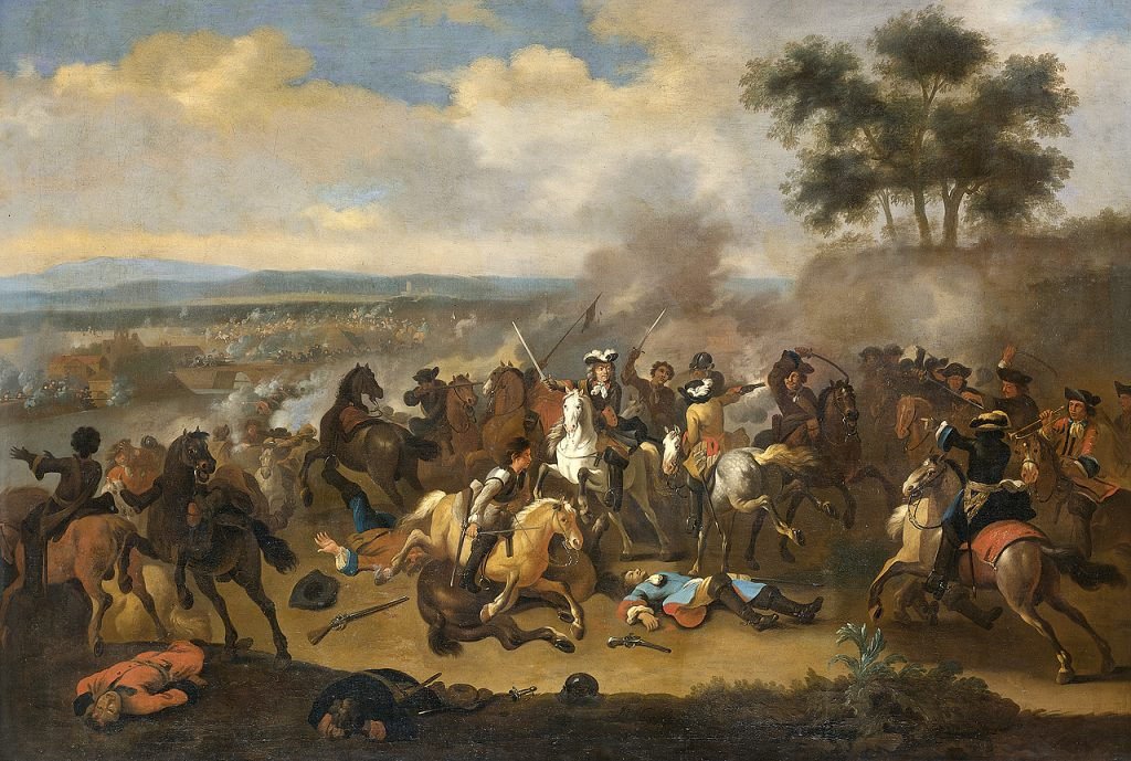 La bataille de la Boyne, par Jan van Huchtenburg, entre 1690 et 1730