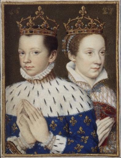 François II et Marie Stuart - Livre d'heures de Catherine de Médicis - vers 1558