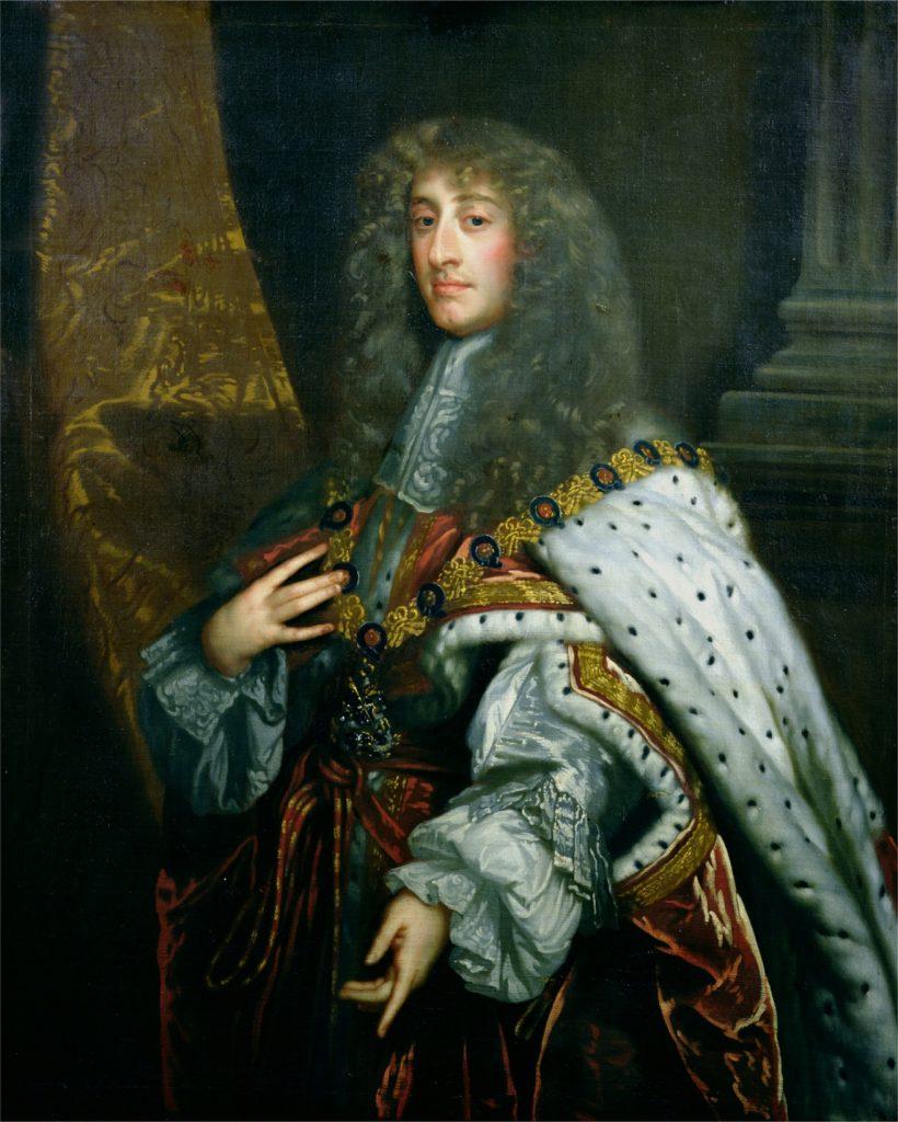 James II, par Peter Lely, dans les années 1660 - © Bolton Museum and Art Gallery, BOL93904