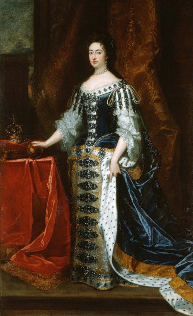 Mary II, par Kneller, 1690