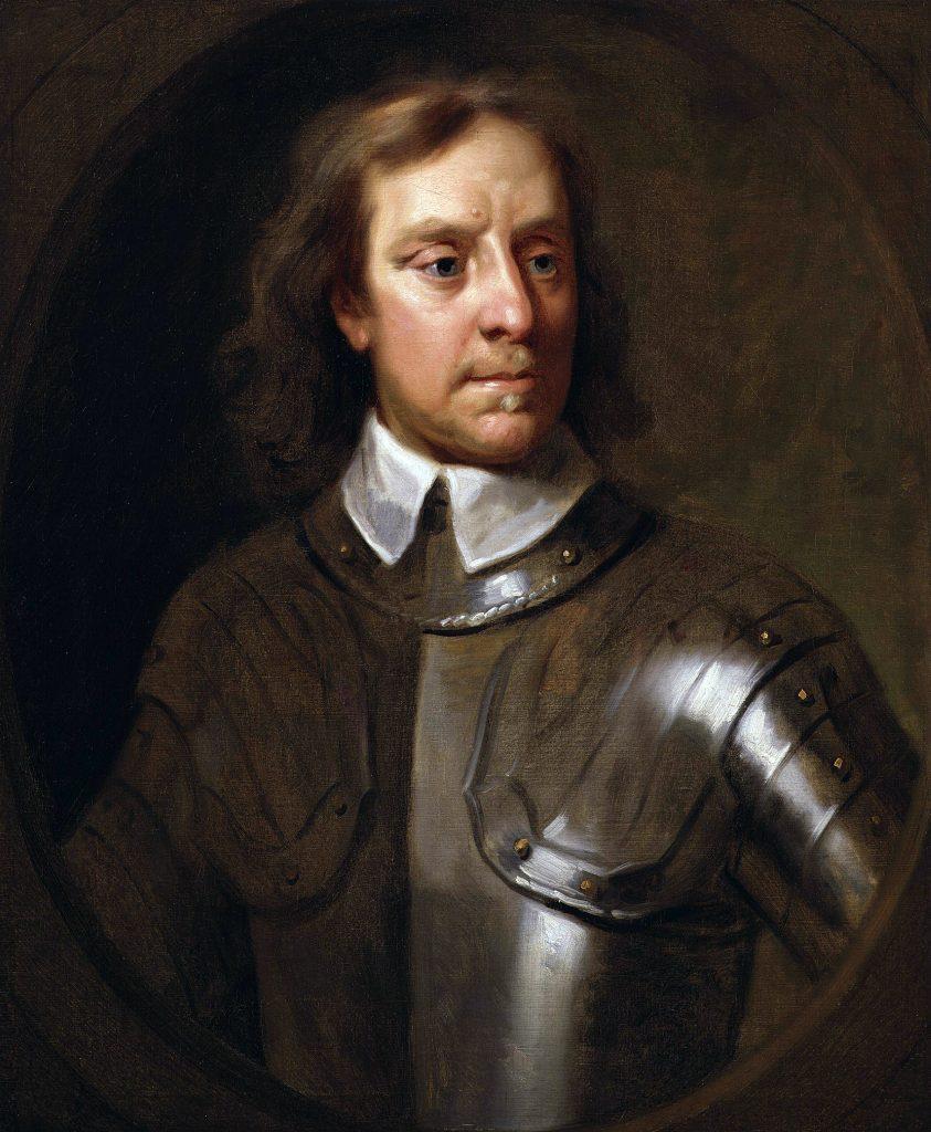 Oliver Cromwell, par Samuel Cooper - 1656